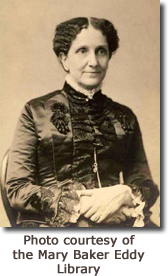Photograph of Mary Baker Eddy.